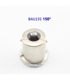 P21W-1156-9W-BAU15S 150* Tek Duy Led Ampul Turuncu Mercekli 2835 Chip 66smd Ultra Parlak 6000K
