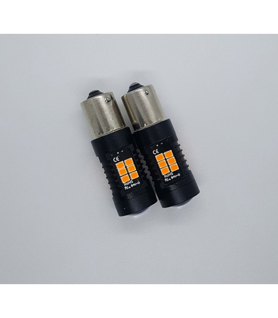 Platinum P21W 1156 15W Tek Duy Dipli Led Ampul Turuncu Mercekli Ultra Parlak