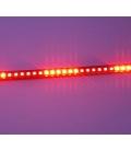 Karaşimşek Çakarlı Led Kırmızı Renk 24 Modlu Kumandalı 56cm