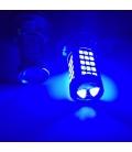 Sis Led Ampul H8/11 2835 Chip 9W Led Ampul Mavi Mercekli 66smd Ultra Parlak 18000K Mercekli