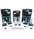 FEMEX XenStart HID D1S XENON OTO AMPUL 4300K SET (2 ADET) 4400Lumen