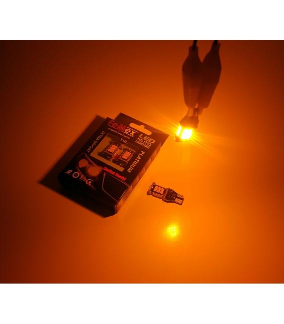 FEMEX T15 3030 Chip 24smd 1200 Lumen Turuncu Led Ampul 6000K