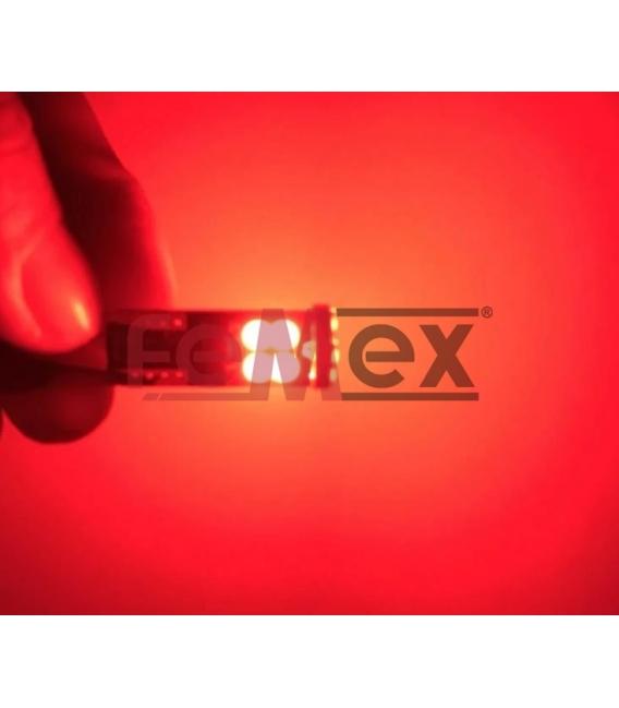 FEMEX T10 3030 Chip 12smd 450 Lumen Kırmızı Led Ampul