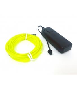 El Wire Neon Led Limon Yeşili 3 Metre Kumandalı