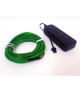 El Wire Neon Led Yeşil 3 Metre Kumandalı