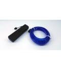El Wire Neon Led Mavi 3 Metre Müziğe Duyarlı