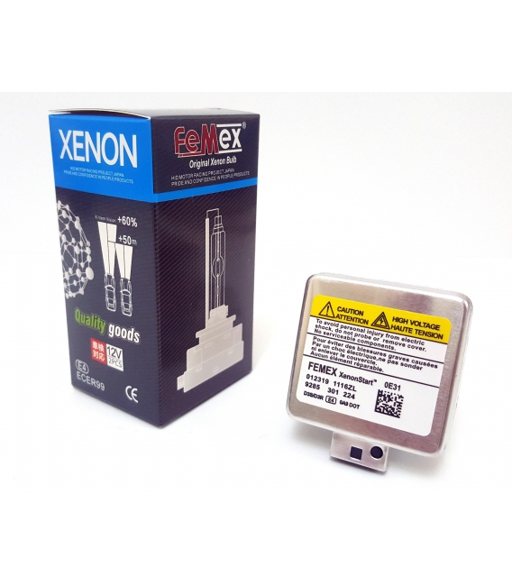 AUDI A6 C7 Kasa (2012 Sonrası) MODEL FEMEX D3S 6000K Tam BEYAZ XENON AMPUL