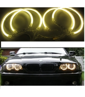 BMW Angel Eyes CCFL Model E46 Sarı