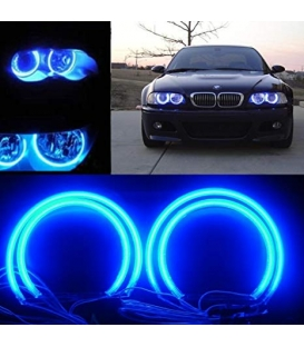BMW Angel Eyes CCFL Model E46 Mavi