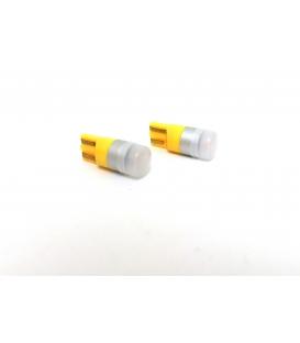 FEMEX T10 1smd 3030 Chipset Mini Turuncu Led Ampul Aktif Canbus