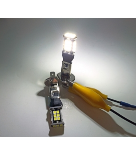 FEMEX Sis Led Ampul H1 COB Chip 7,5W Led Ampul Beyaz Ultra Parlak 6000K