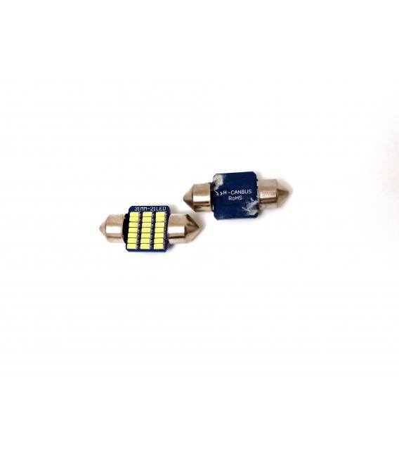 FEMEX Premium 4014 Chipset 21smd Sofit Led Ampul 31mm