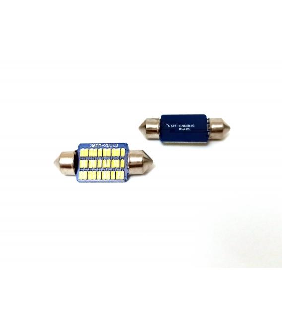 FEMEX Premium 4014 Chipset 21smd Sofit Led Ampul 36mm