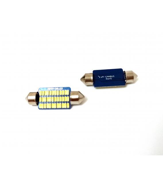 FEMEX Premium 4014 Chipset 21smd Sofit Led Ampul 39mm