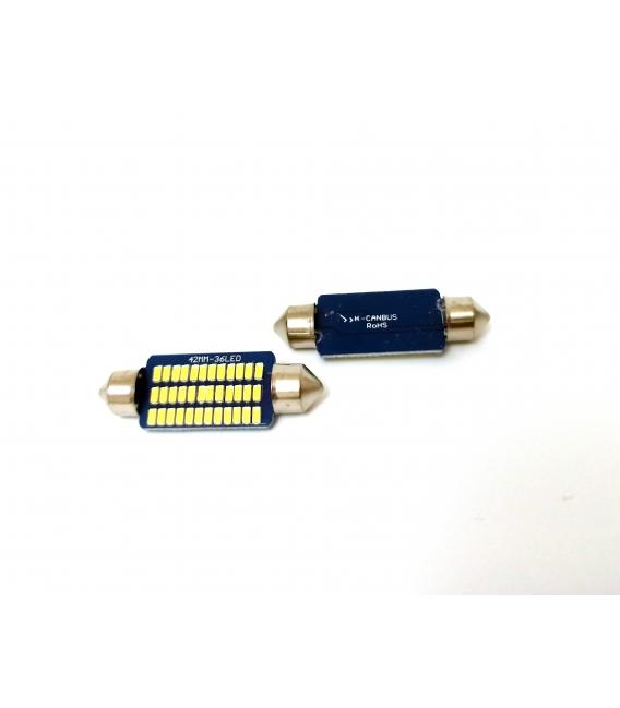 FEMEX Premium 4014 Chipset 21smd Sofit Led Ampul 41mm