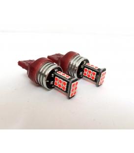 FEMEX T20 7440/7443 Tek Duy / Çift Duy Led Ampul Kırmızı Parlak