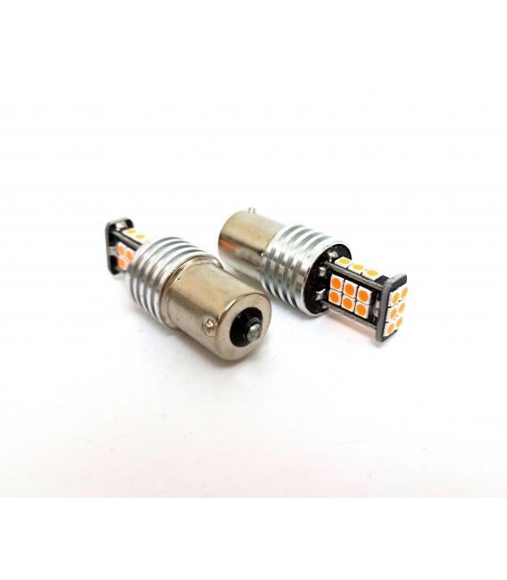 P21W 1156 Tek Duy Led Ampul Turuncu 3030 Chip Parlak