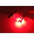 P21W 1157 Çift Duy Led Ampul Kırmızı 3030 Chip Parlak