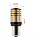 FEMEX Platinum P21W-1156 BAU15S 150* Tek Duy DECODERLİ SİNYAL Led Ampul Tak Çalıştır.