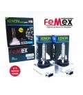 FEMEX XenStart HID D1S XENON OTO AMPUL6000K SET (2 ADET) 4400Lumen