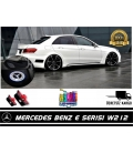 Mercedes E Serisi W212 Araçlar İçin Orjinal Geçmeli Soketli Kapı Altı Led Logo