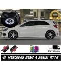 Mercedes A Serisi W176 Araçlar İçin Orjinal Geçmeli Soketli Kapı Altı Led Logo