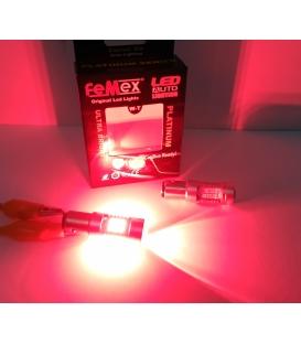 FEMEX Platinum P21W 1156 15W Tek Duy Led Ampul Kırmızı Mercekli Ultra Parlak