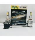 Super Nova BEYAZ HB4 9006 Şimşek Etkili Zenon COB Led Xenon Led Headlight
