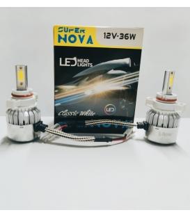 Super Nova TURKUAZ  PSX24W H16 Şimşek Etkili Zenon COB Led Xenon Buz Mavi