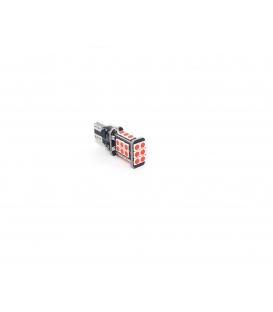 FEMEX T15 3030 Chip 24smd 1200 Lumen Kırmızı Led Ampul 1 Adet